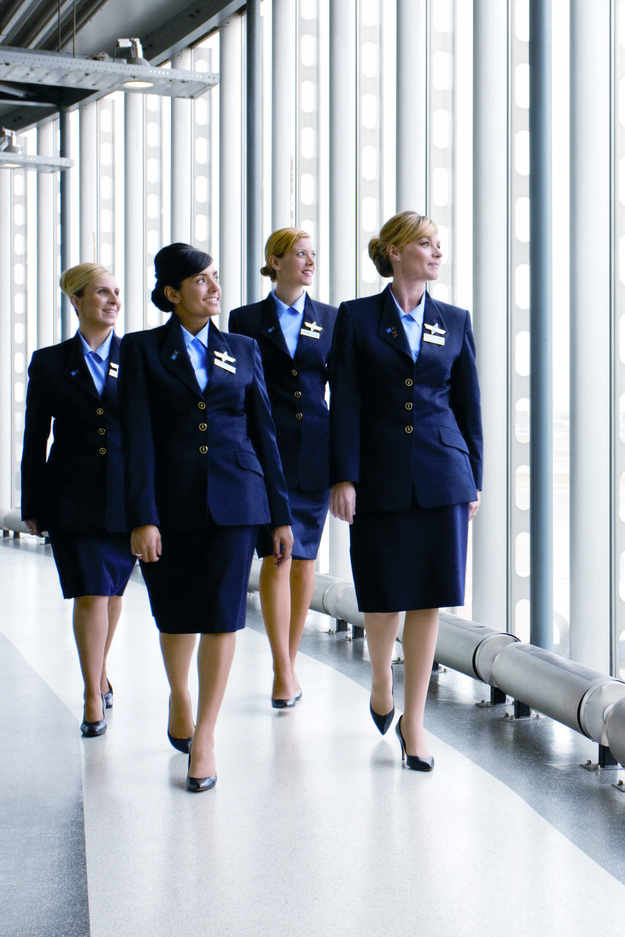 BMI Stewardess.
